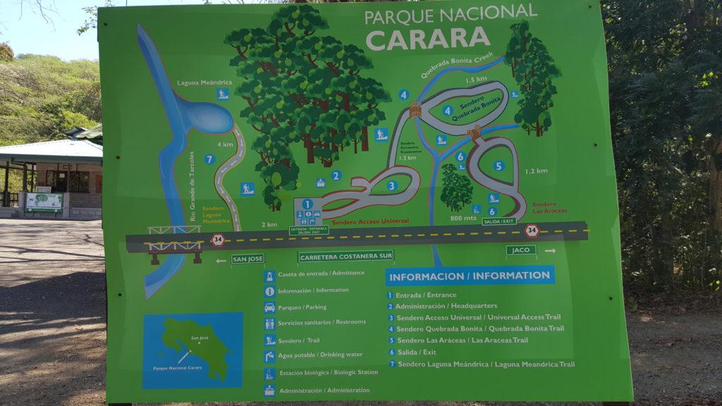 nationaal park carara