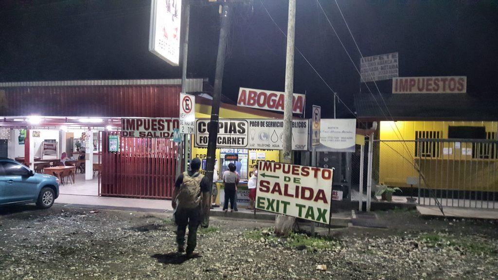 Grens Costa Rica Panama