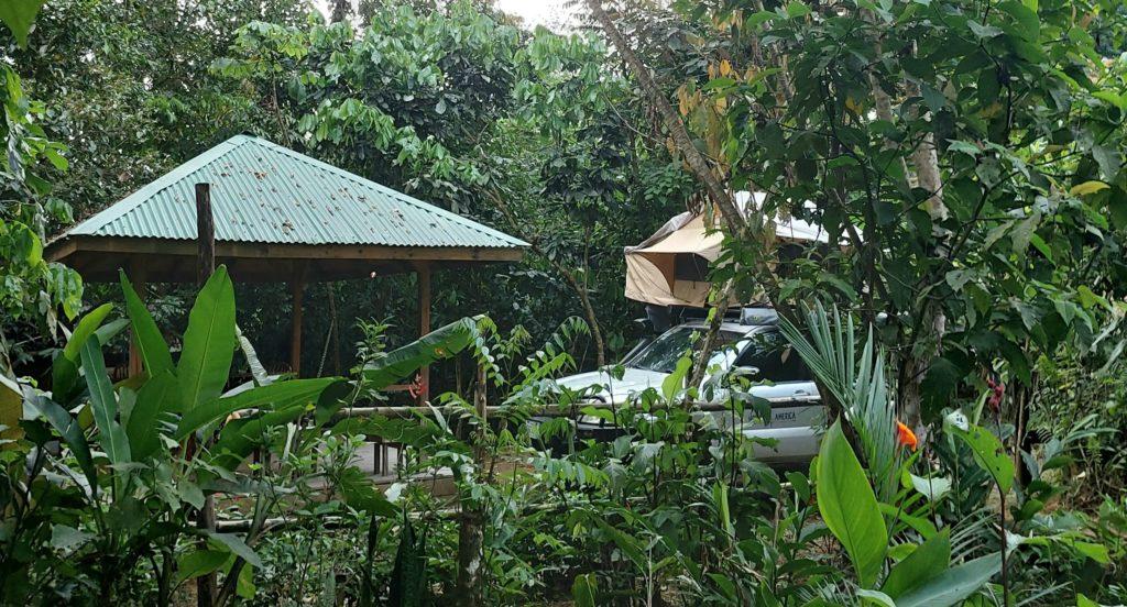 kamperen Costa Rica